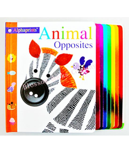 Alphaprints  Animal Opposites Us