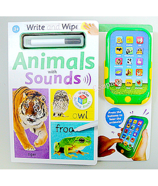 Write and Wipe: Animals with Sounds
