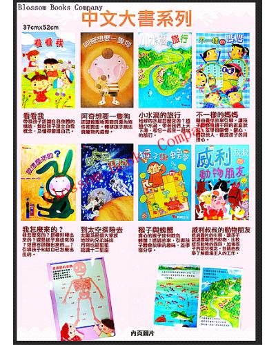 大書系列:中文大書系列-第一輯 (全套8書)