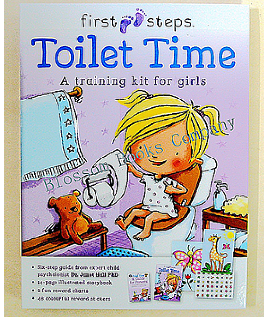First Steps: (Toilet Time for Girls)