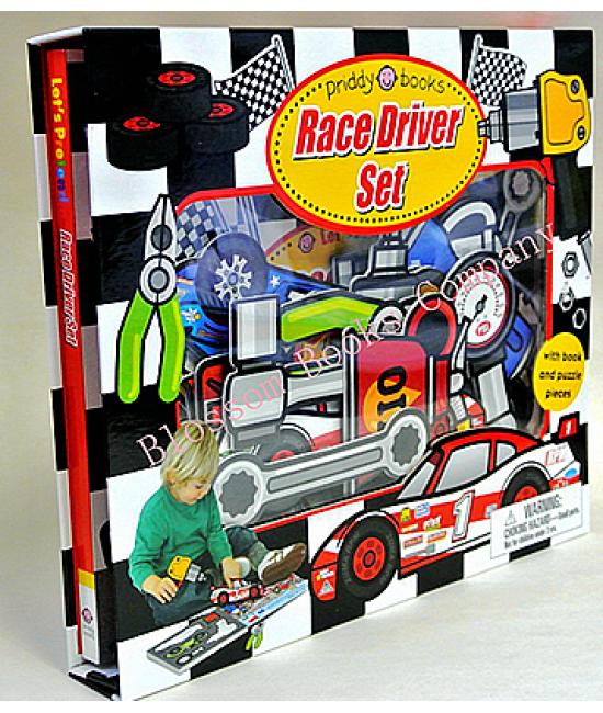 Let's Pretend-Race Driver Set