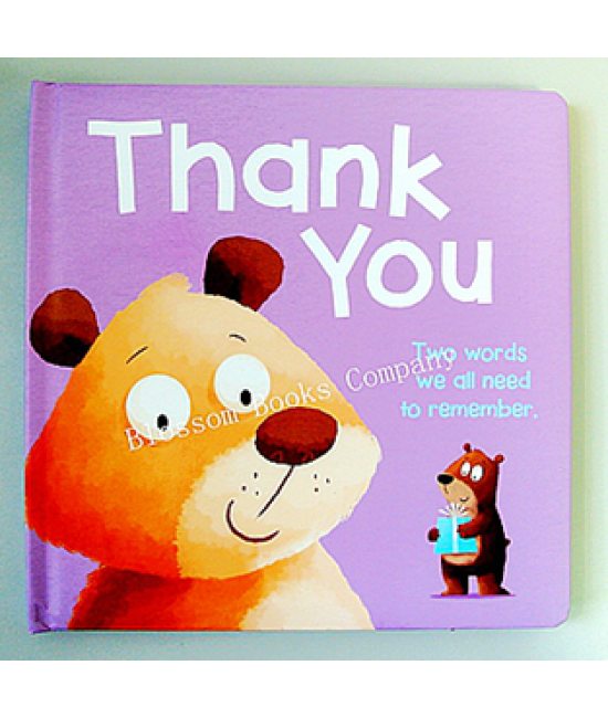 Manners Book: Thank You
