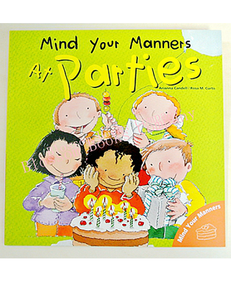 Mind your Manners: At Parties