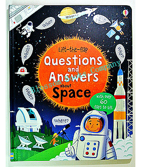 Lift the flap :Questions and Answers (Space)