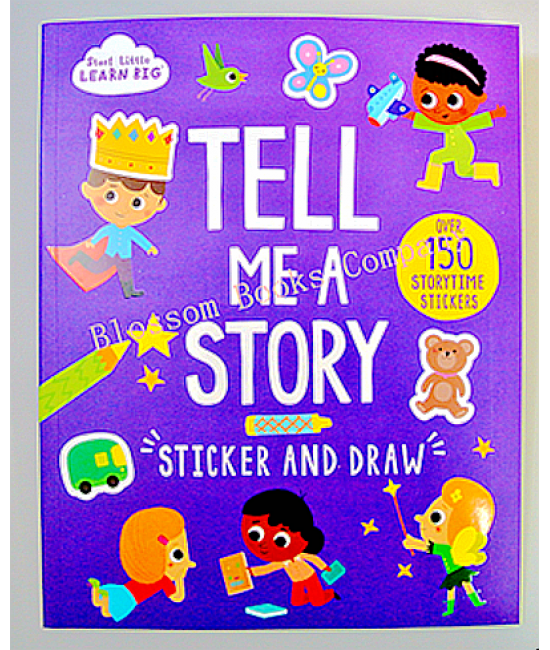 Start Little: Tell Me a Story Sticker and Draw
