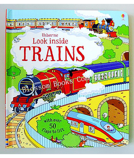 Usbome Look Inside: Trains