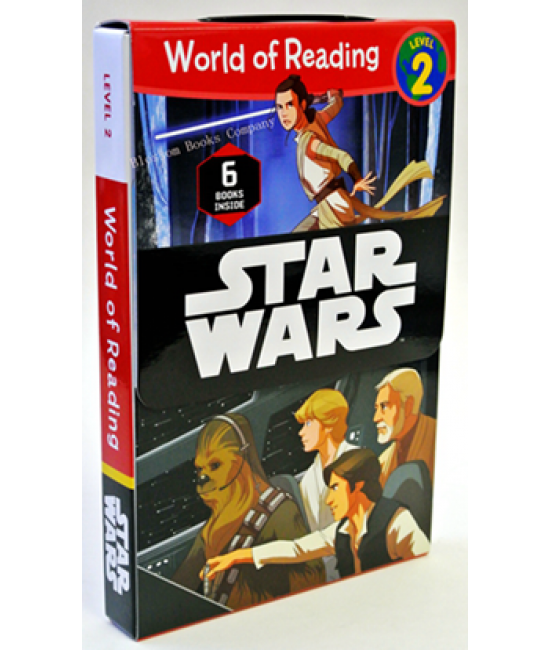 World of Reading: Star Wars Level 2 (6 Books Inside)