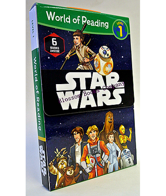 World of Reading :Star Wars Level 1 (6 Books Inside)
